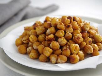 Soy-Glazed Crunchy Chickpeas