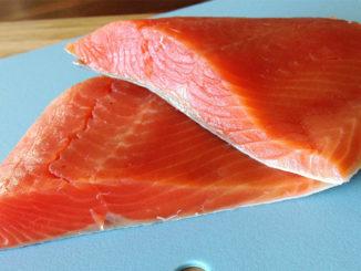 Pan-Seared Salmon with Horseradish Crema