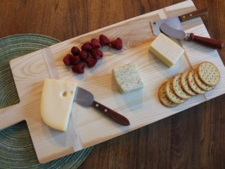 A Dinner-Party Ready Serving Board