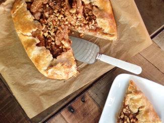 Apple Crostata with Walnut Streusel