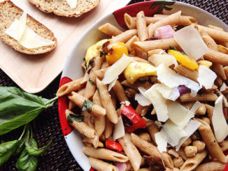 Grilled Vegetable Pasta Toss