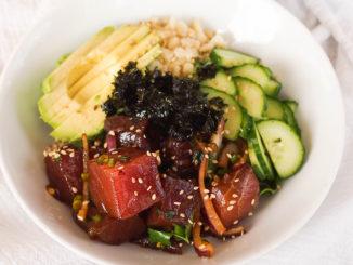 Taste Paradise with Hawaiian Ahi Poke Bowl