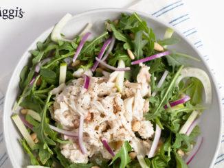 Orange Ginger Crab Salad