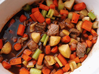 Slow Cooker Beef with Red Wine