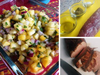 Jerk Pork Tenderloin with Pineapple Mango Salsa
