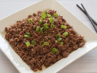Do More with Less: Korean Sesame Ground Beef