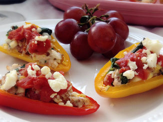 Stuffed Mini Peppers Are a One-Bite Burst of Nutrition