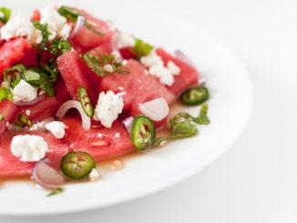 Taste the Summer with Watermelon-Jalapeño Feta Salad