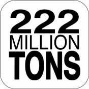 222 Million Tons 1.1