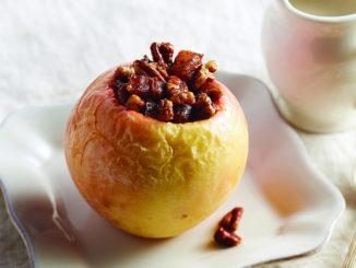 Cinnamon-Pecan Baked Apple
