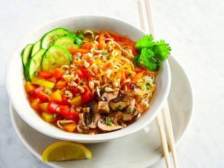 Rainbow Ramen Recipe with Chili-Garlic Citrus Broth