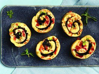 Oven-Baked Omelet Roll