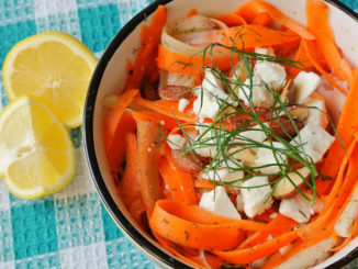 Shaved Carrot and Fennel Salad