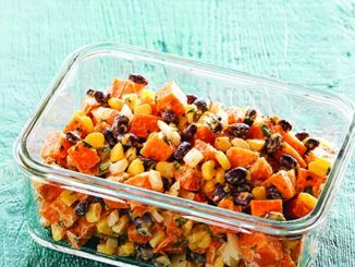 Peruvian Sweet Potato and Black Bean Salad