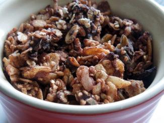 Chocolate Quinoa Granola