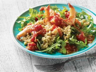 Curried Shrimp and Quinoa Salad