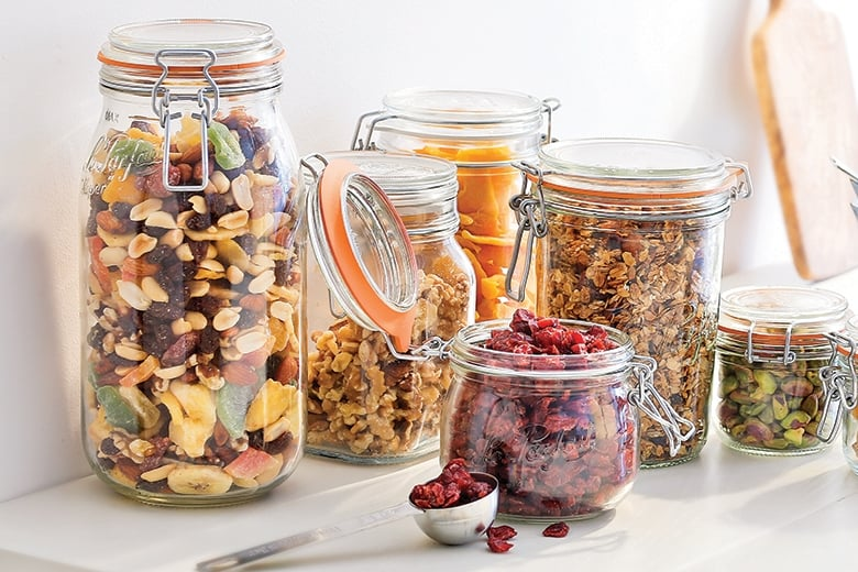 Awesome Clamp Lid Jars: Food Storage Comes In All Shapes And Sizes   Food U0026  Nutrition Magazine