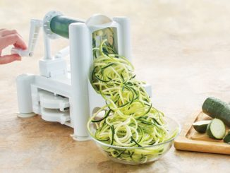 Spiralizers Are a New Kitchen Essential for Creating Vegetable and Fruit Noodles
