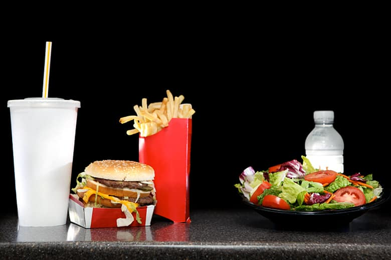 the struggle to change my unhealthy diet of fast food Learn how fast food negatively affects your eating foods that contain it can increase your ldl(bad) which support your bones, and maintain a healthy diet to.