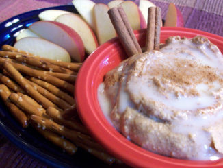 Cinnamon Roll Dip (Shh...It's Healthy!)