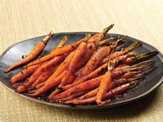 Honey-Harissa Roasted Carrots