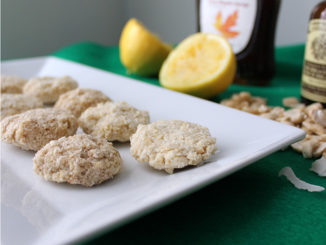 Using a Dehydrator to Make Lemon Cookies
