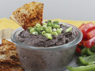 Black Bean Dip with Nutritional Yeast