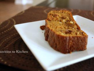 Pumpkin Almond Bread