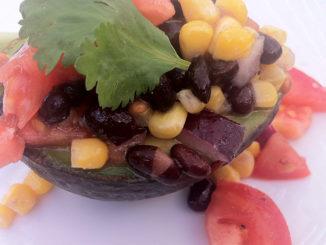Summer Heat Calls for Southwestern Stuffed Avocado