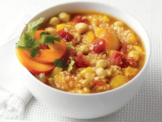 Apricot Chickpea Soup