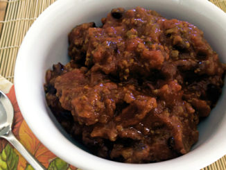 Warm Up with Spicy Turkey Chili