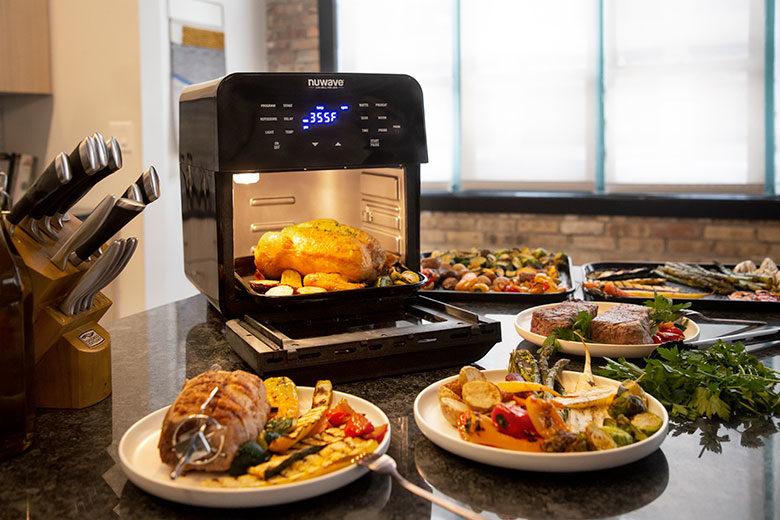 Cooking Veggies in the NuWave Brio Digital Air Fryer - Food & Nutrition Magazine - Stone Soup