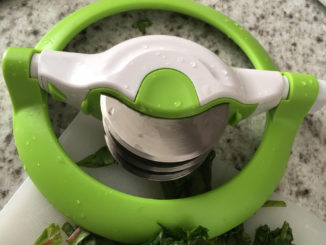 A Tool that Makes Mincing Fresh Herbs Easy