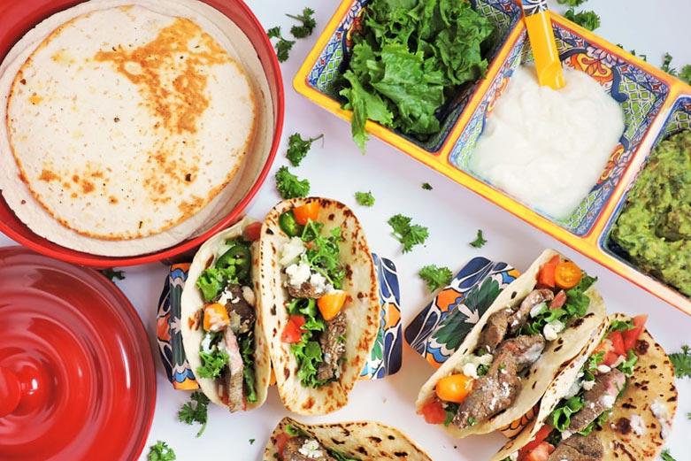 Taco Night Done Right with Prepara Taco Accessories