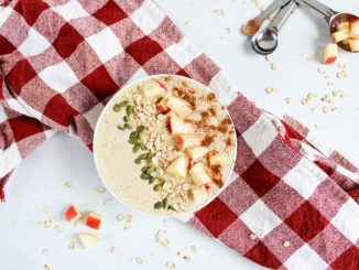 Apple Smoothie Bowl - Food & Nutrition Magazine - Stone Soup