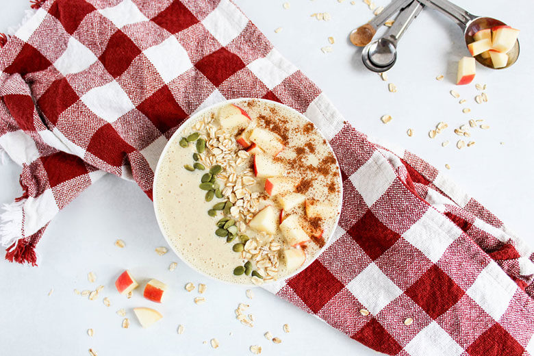 Apple Smoothie Bowl - Food & Nutrition Magazine - Stone Soup
