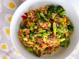 Beef and Broccoli Fried Rice - Food & Nutrition Magazine - Stone Soup
