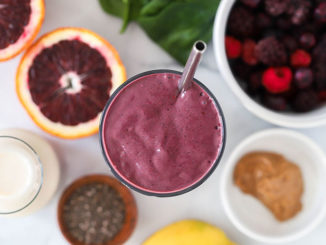 Blood Orange Berry Smoothie - Food & Nutrition Magazine - Stone Soup