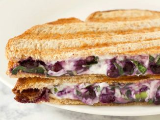 Blueberry, Basil and Goat Cheese Panini Sandwich | Food & Nutrition | Stone Soup