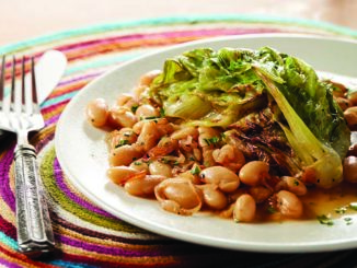 Braised Lettuce with Beans   Food & Nutrition Magazine   Volume 10, Issue 2