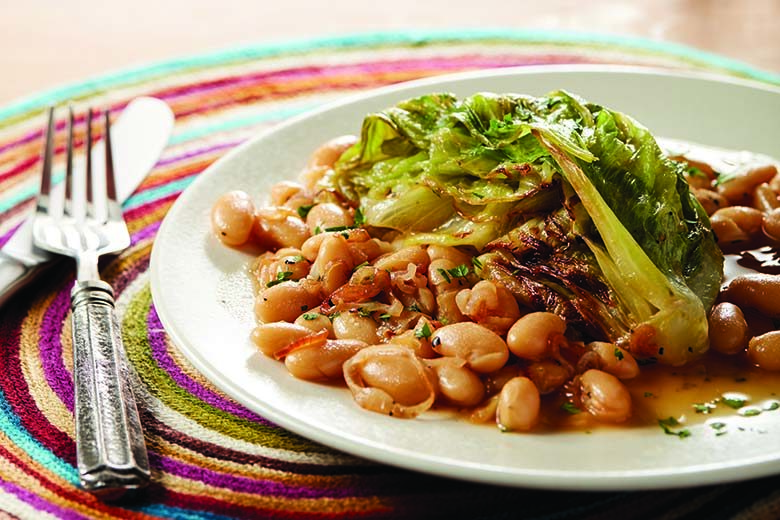 Braised Lettuce with Beans | Food & Nutrition Magazine | Volume 10, Issue 2