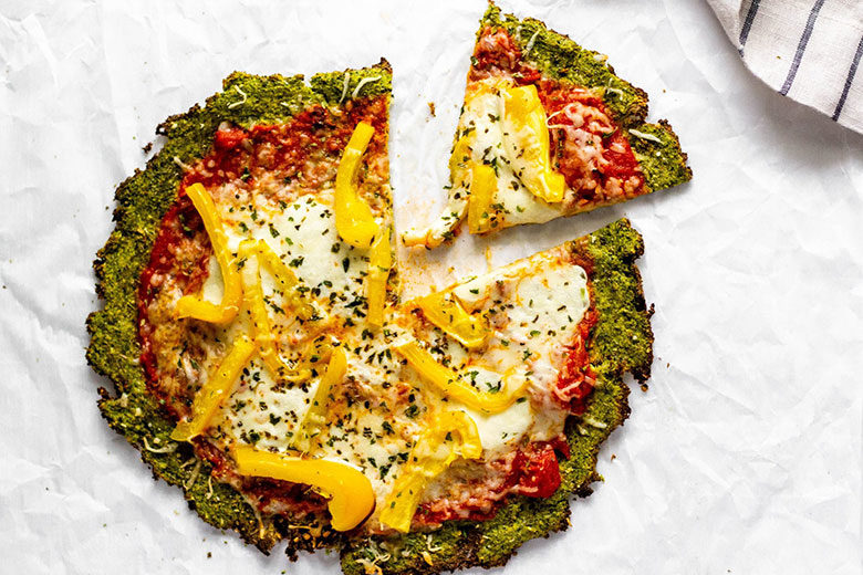 Broccoli Pizza Crust - Food & Nutrition Magazine - Stone Soup
