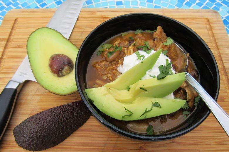 Slow Cooker Chicken, White Bean & Pumpkin Chili | Food & Nutrition | Stone Soup