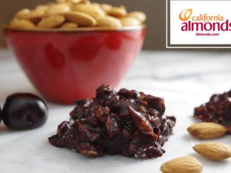 Salted Dark Chocolate and Cherry Almond Clusters