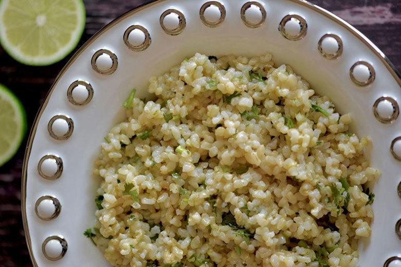Cilantro Lime Brown Rice - Food & Nutrition Magazine - Stone Soup