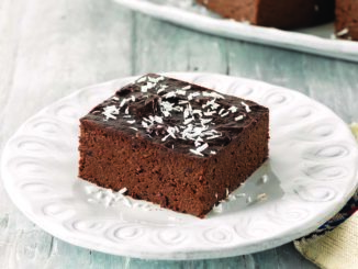 Coconut-Topped Chocolate Cake   Food & Nutrition Magazine   Volume 9, Issue 1