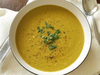 Creamy Vegan Split Pea Soup