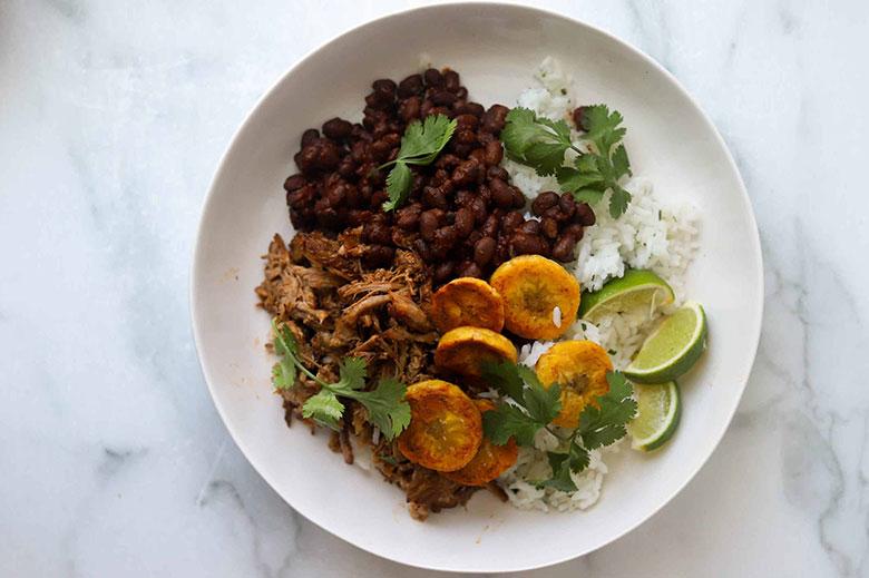 Cuban-Inspired Pork Rice Bowls - Food & Nutrition Magazine - Stone Soup