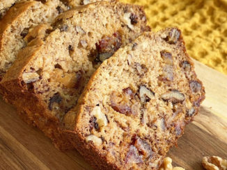 Date, Walnut and Pecan Banana Bread - Food & Nutrition Magazine - Stone Soup