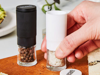 Pretty, Petite Salt and Pepper Grinder Set - Food & Nutrition Magazine - Stone Soup